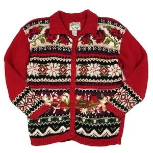 Vintage Heirloom Collectibles Christmas Sweater